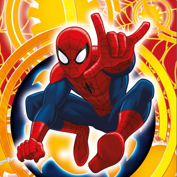 Povlak na polštářek Spiderman yellow micro 40/40