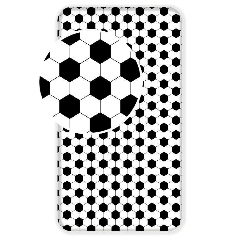 JERRY FABRICS Prostěradlo Fotbal  Bavlna, 90/200 cm