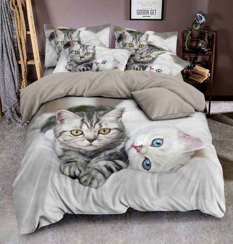 3D Povlečení Kittens micro 140/200, 70/90 +40/40