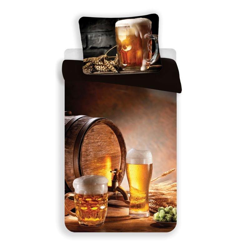 3D Povlečení Golden Beer micro 140/200, 70/90