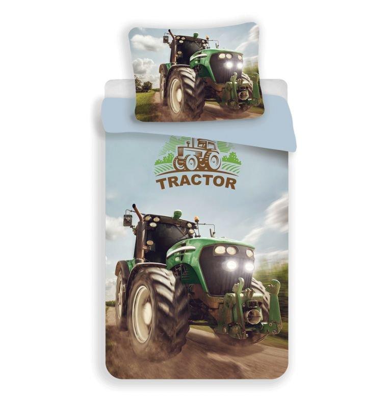 3D Povlečení Traktor green micro 140/200, 70/90