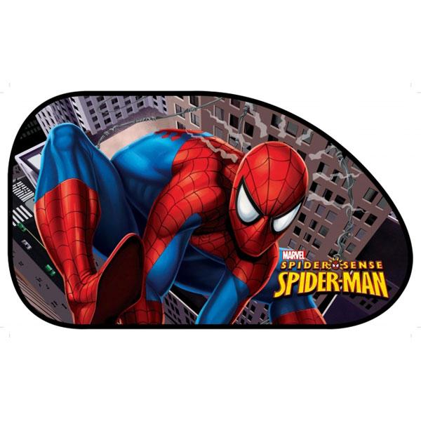 Sluneční clona Spiderman boční 2 ks (stínítko do auta)