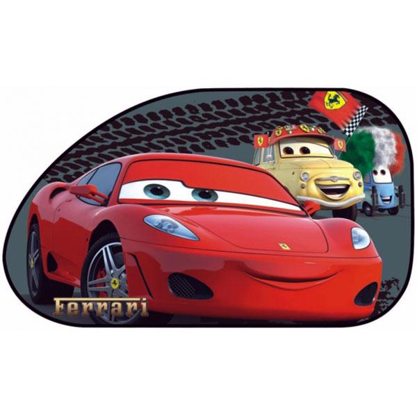 Sluneční clona Auta, Cars 65x38 cm 2 ks (stínítko do auta)