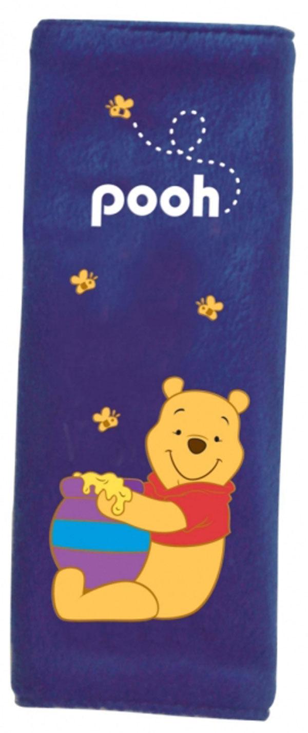 Potah bezpečnostního pásu Medvídek Pů s medem (polstrování pásu, chránič bezpečnostního pásu)