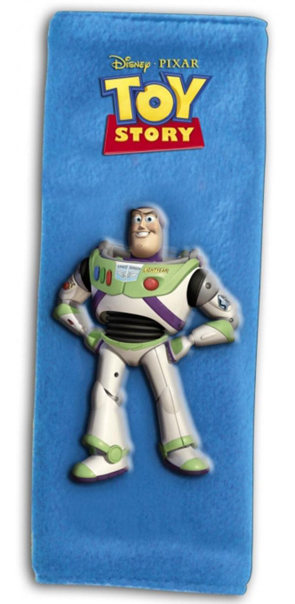 Potah bezpečnostního pásu Toy Story Buzz (polstrování pásu, chránič bezpečnostního pásu)