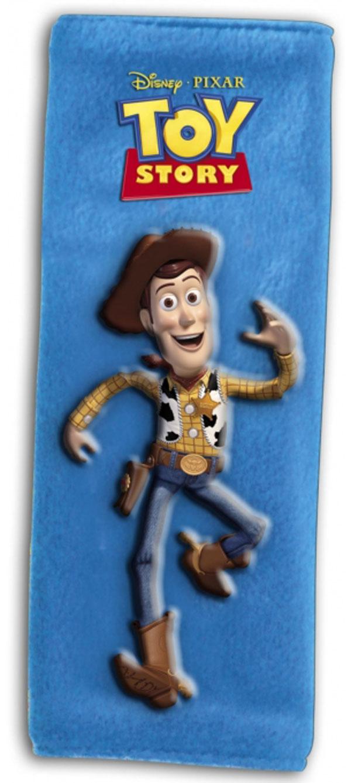 Potah bezpečnostního pásu Toy Story Woody (polstrování pásu, chránič bezpečnostního pásu)