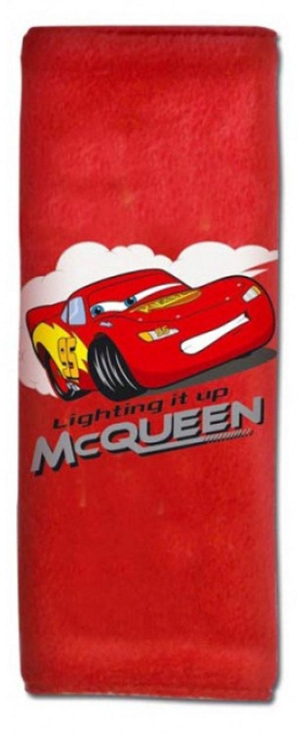 Potah bezpečnostního pásu Cars červený (polstrování pásu, chránič bezpečnostního pásu)
