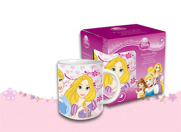 Porcelánový hrnek Princezny (dětský hrnek)