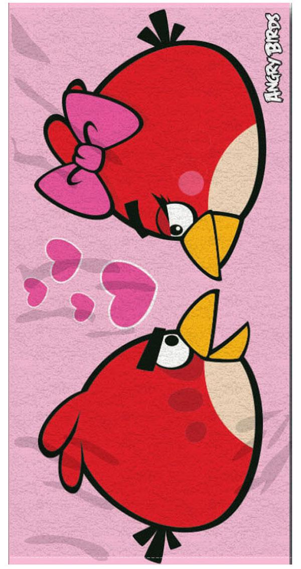 Osuška Angry Birds Love 70/140 (plážová osuška, dětský ručník Angry Birds)