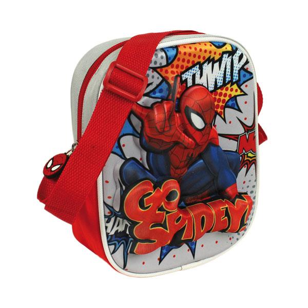 Taška na rameno Spiderman 3D (dětská taška Spiderman)
