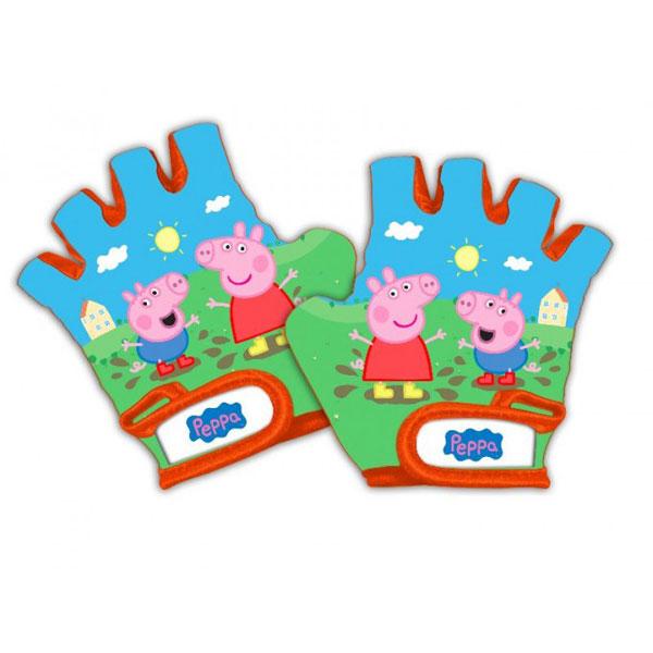 Rukavice na kolo Peppa pig (rukavice pro děti Prasátko Peppa)
