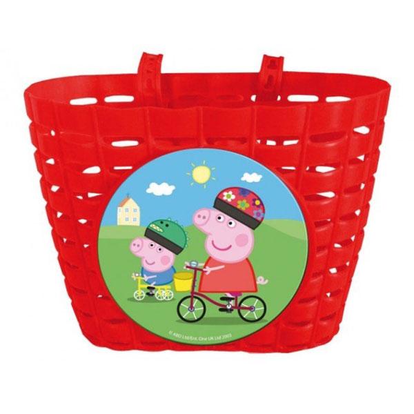 Košík na kolo Peppa pig (košík na přední řidítka Prasátko Peppa)