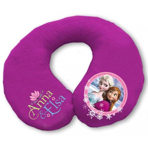 Dětský cestovní polštářek Ledové Království (podkovička Frozen)