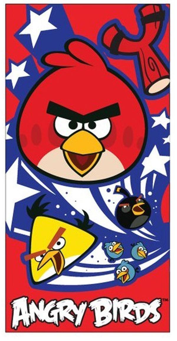 Dětská osuška Angry Birds červená 70/140