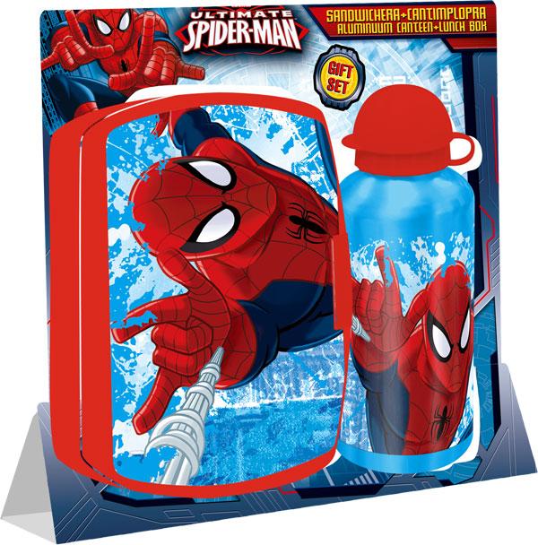 Svačinová sada Spiderman (detská sada na svačinu)
