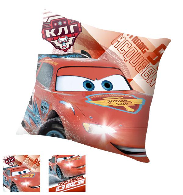Polštářek Cars Professional 40x40 (dětský polštářek Cars)