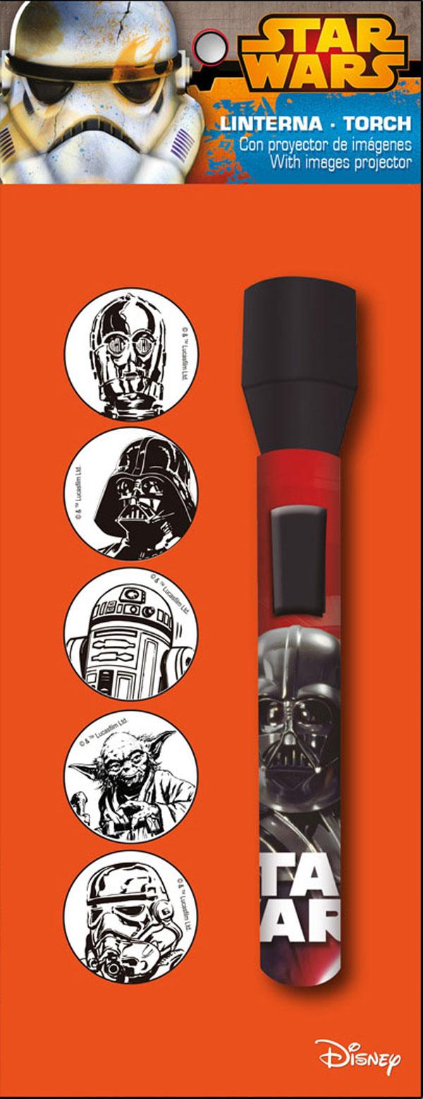 Dětská LED svítilna, baterka Star Wars