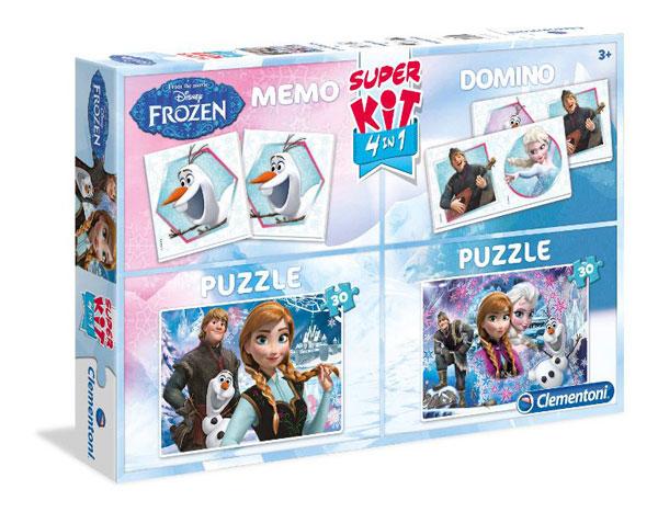 Soubor her Ledové Království - puzzle, hry