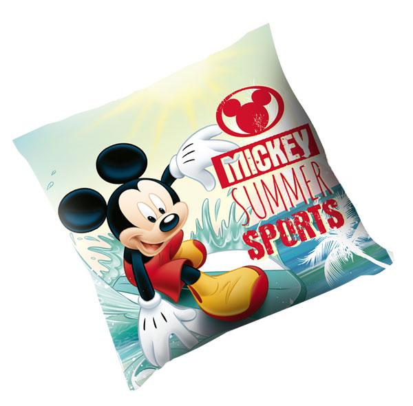 Polštářek Mickey Summer 40x40 (dětský polštářek Mickey)