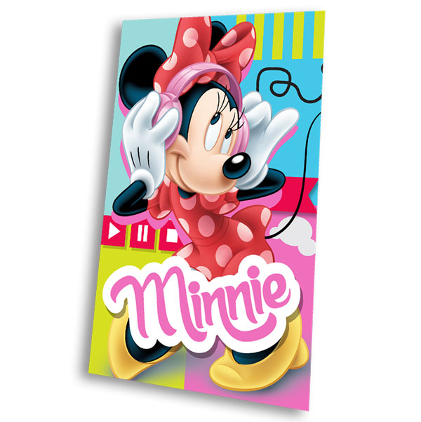 Fleece deka Minnie Music 100/150 | Textil SDS doplňky Fleece deky, spací pytle
