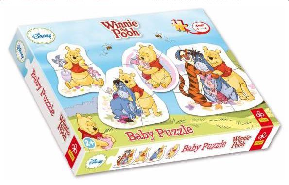 Baby puzzle Medvídek Pů (puzzle)