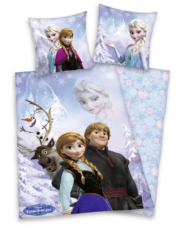 Povlečení Ledové Království 135/200 (ložní povlečení, dětské povlečení Frozen)