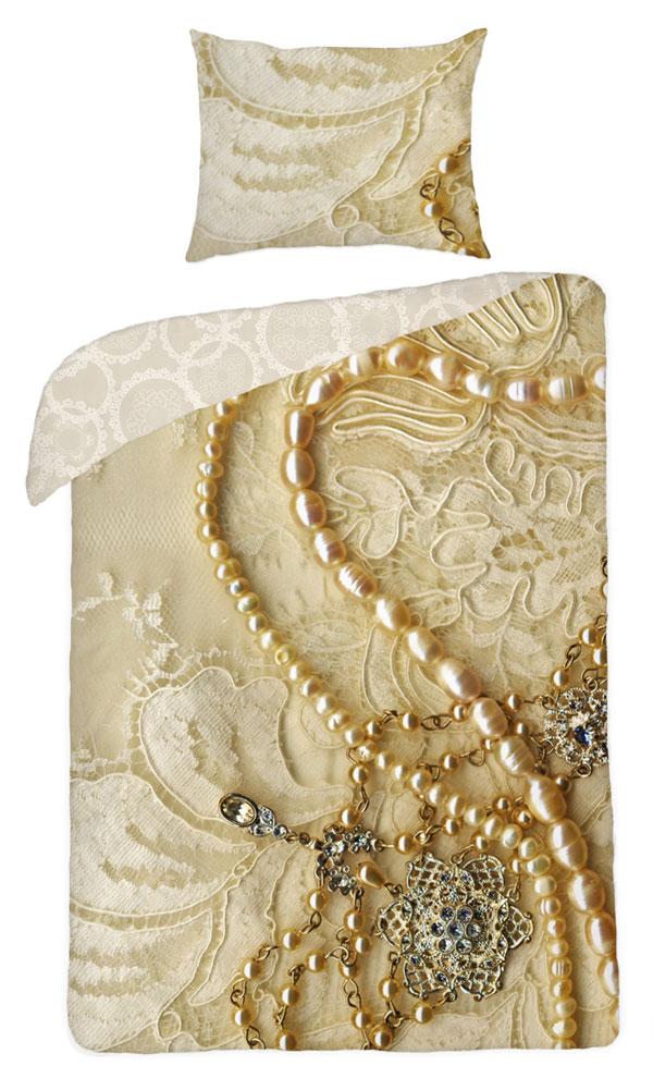 Povlečení Šperky 140x200 70/90 (ložní povlečení, dětské povlečení Šperky)