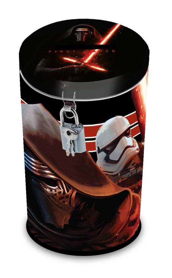 Pokladnička se zámkem Star Wars VII (dětská pokladnička Star Wars)
