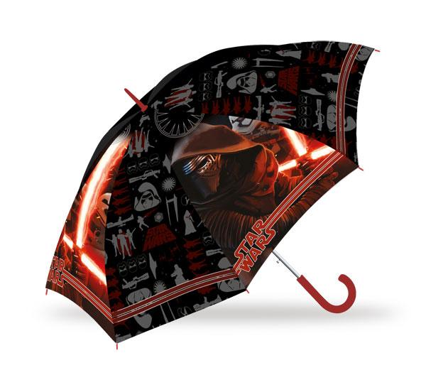 Vystřelovací deštník Star Wars VII (dětský deštník)