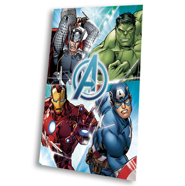 Fleece deka Avengers 100/150 | Textil SDS doplňky Fleece deky, spací pytle
