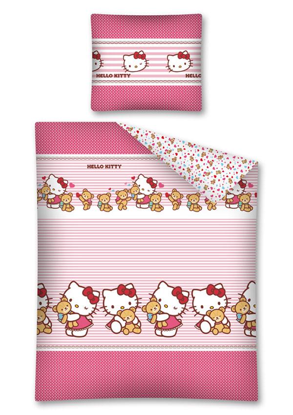 Povlečení Hello Kitty Teddy 140/200 cm