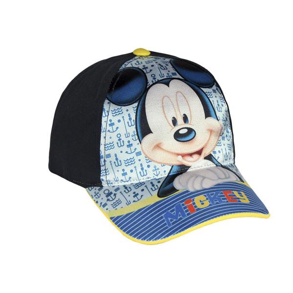 Kšiltovka Mickey modrá vel. 54 (dětská kšiltovka Mickey)