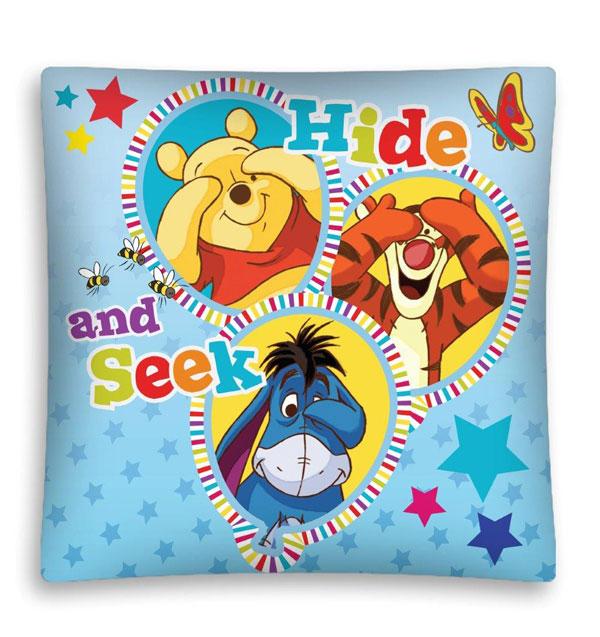 Povlak na polštářek Medvídek Pů a přátelé micro 40/40 (dětský povláček Medvídek Pů)