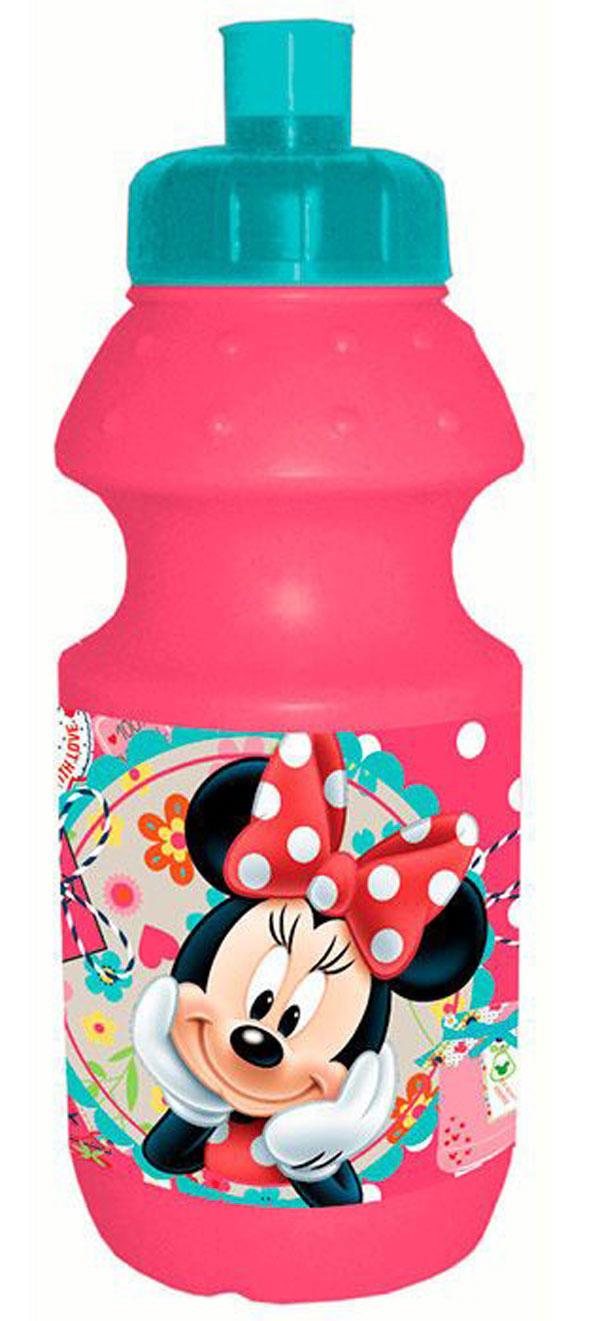Láhev na pití Minnie růžová 350 ml | Do školy a školky lahve na pití