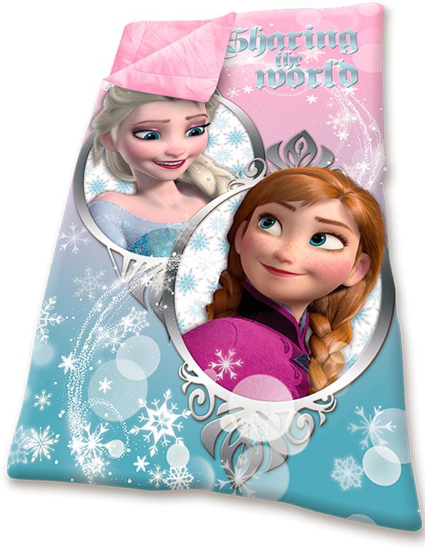 Spací pytel Ledové Království Anna a Elsa 70/140 | Fleece deky, spací pytle spací pytle