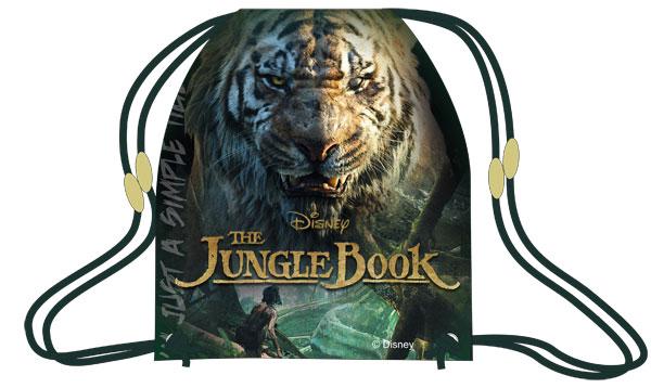 Taška na tělocvik a přezůvky Kniha Džunglí 41 cm
