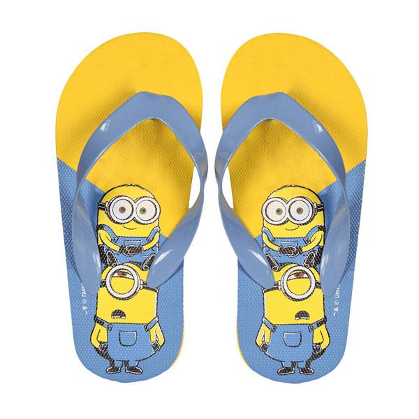 Žabky Mimoni modré 26 | Dětské oblečení boty