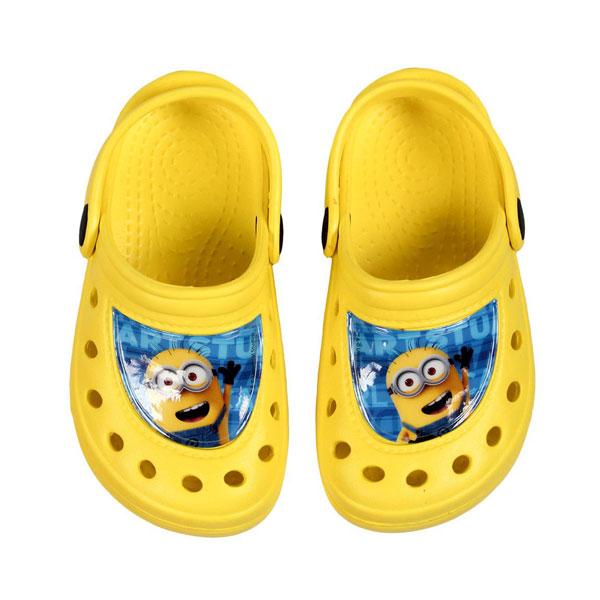 Kroksy Mimoni žluté 28 | Dětské oblečení boty
