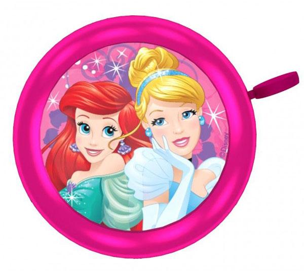 Zvonek na kolo Princezny kovový (Dětský zvonek na kolo a nebo odrážedlo, zvonek Disney Princezny kovový)