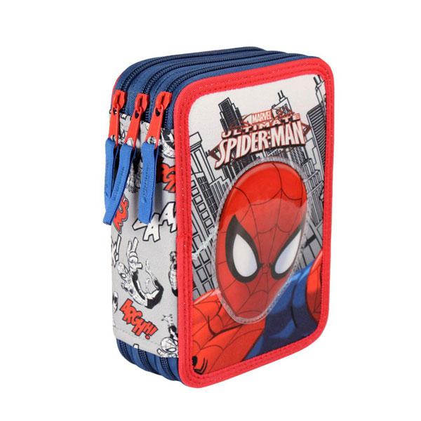 Třípatrový plný penál Třípatrový plný penál Spiderman