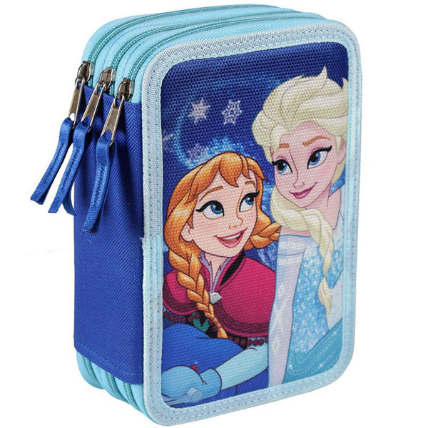 Třípatrový plný penál Ledové Království (dětský penál Frozen)