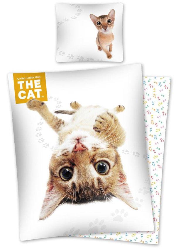 Povlečení The Cat Habešská kočka 140/200