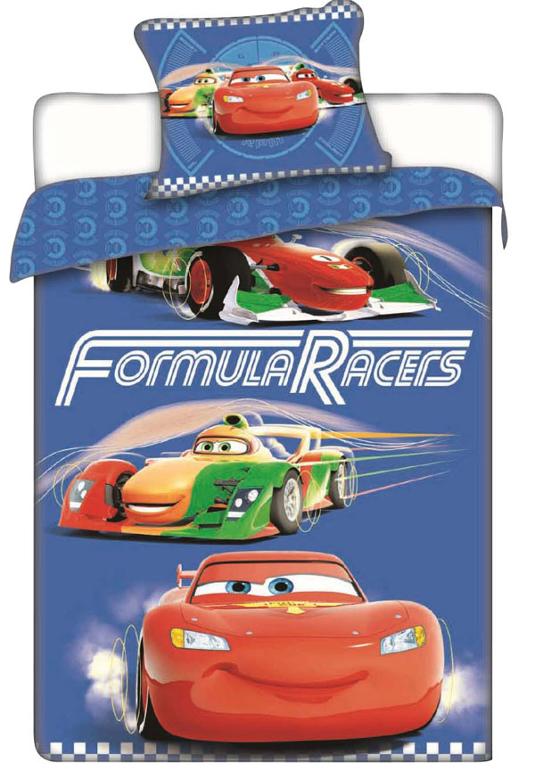 Povlečení Cars Racers 140/200 cm - Povlečení licenční