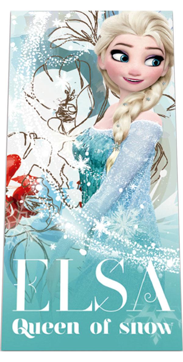 Osuška Ledové Království Elsa 70/140 cm (ručník Frozen)