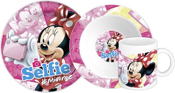 Keramická sada nádobí Minnie Selfie