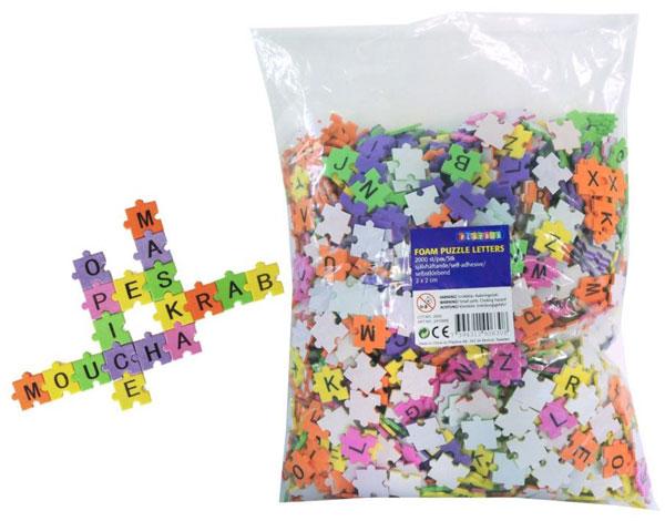 Puzzle scrabble Písmenka 2000 dílků
