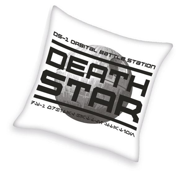 Polštářek Star Wars Hvězda Smrti 40/40 cm (Dětský polštářek)