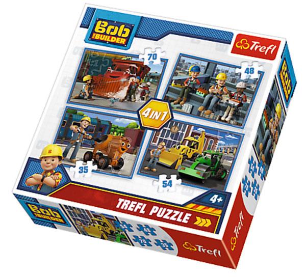 Puzzle Bořek Stavitel 4v1