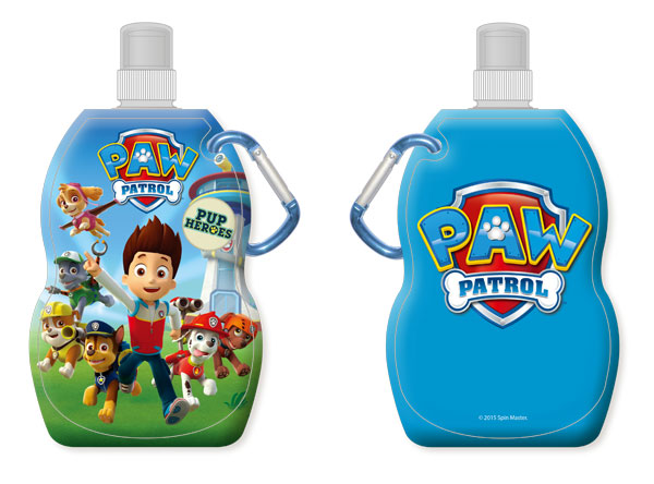 Láhev na pití s karabinou Paw Patrol 330 ml (Dětská lahev na pití)