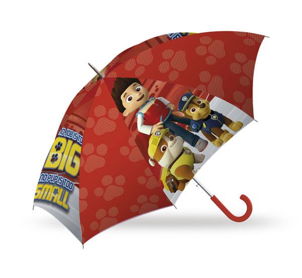 Deštník Paw Patrol red